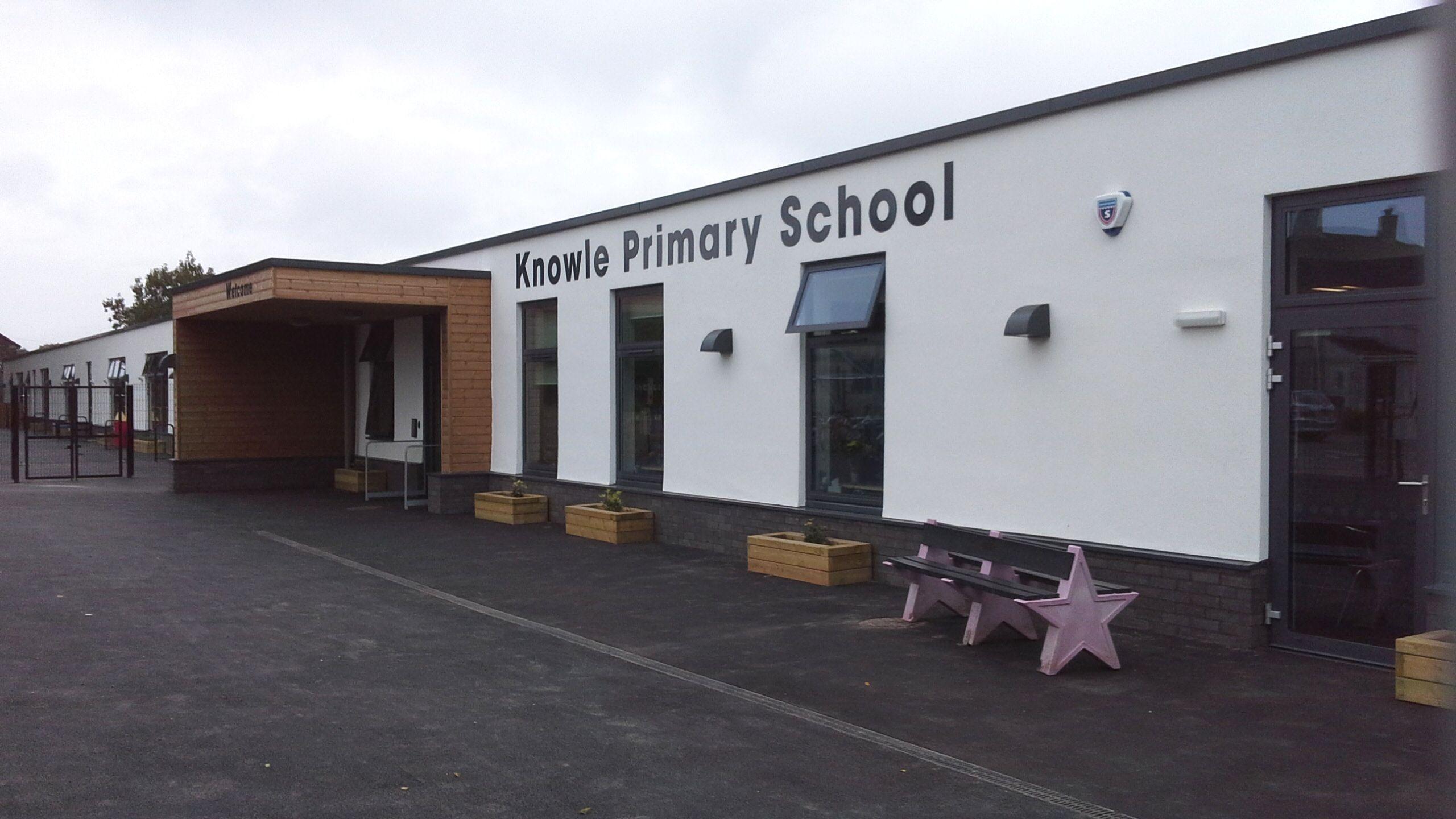 Modular Classrooms ~ Knowle school plymouth willmott dixon
