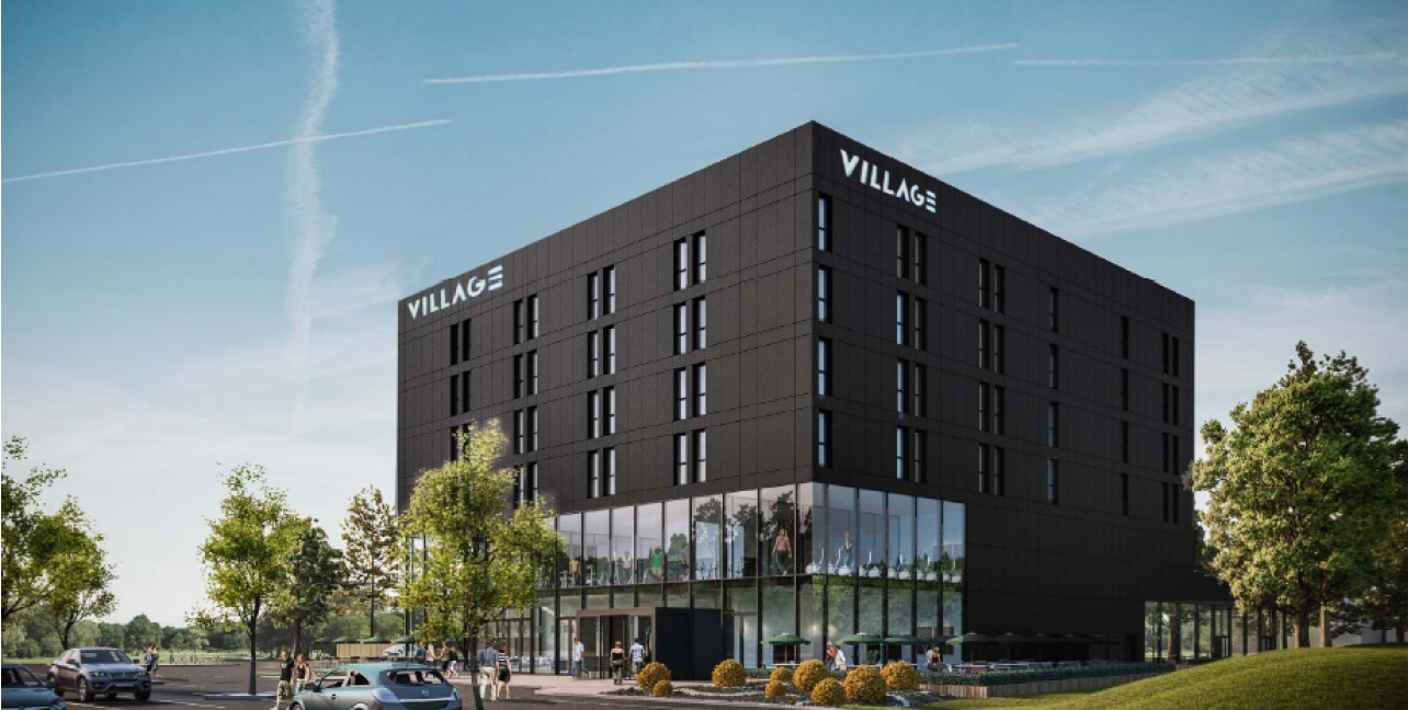 Village urban hotel portsmouth willmott dixon for Hotels in portsmouth with swimming pool