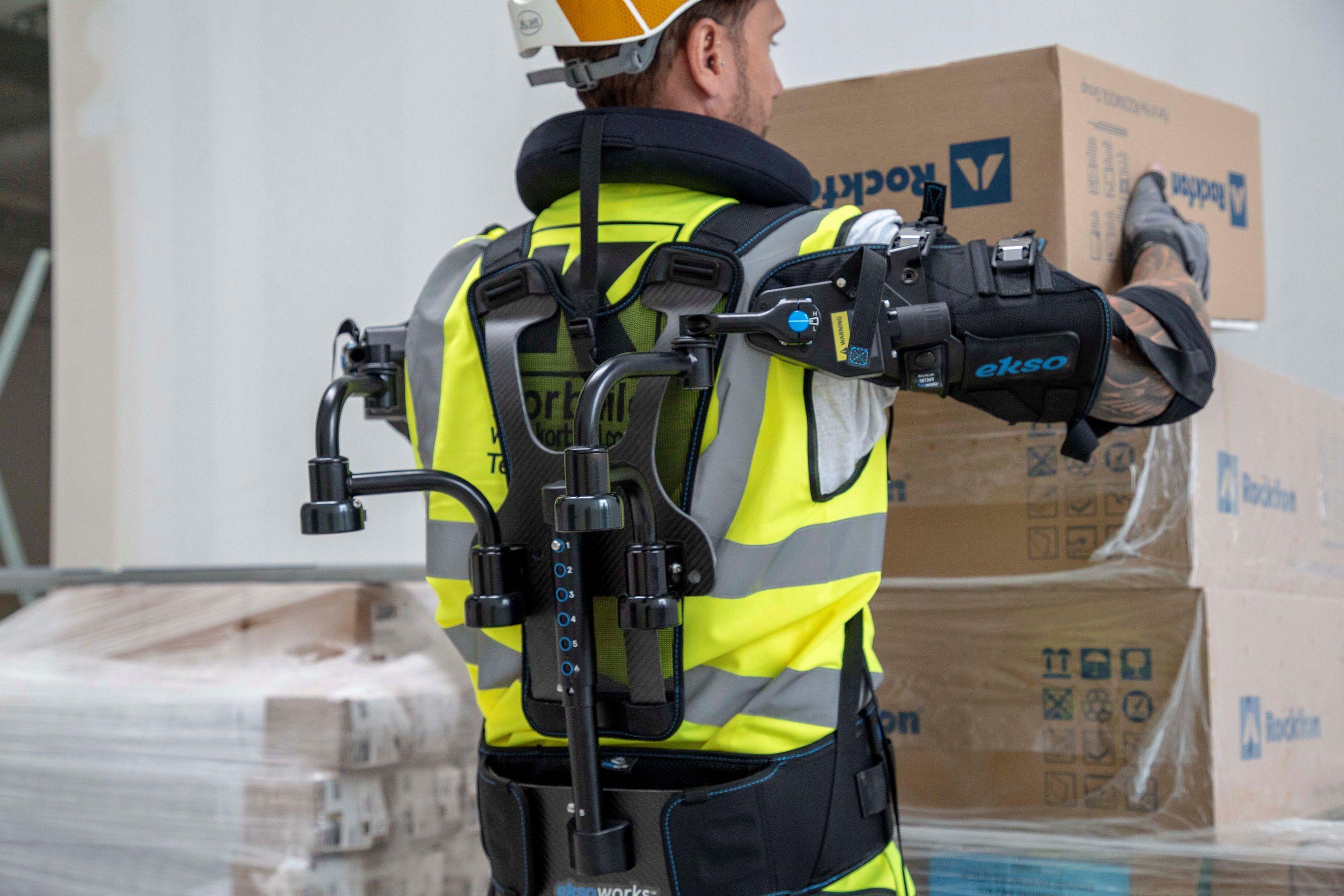 Willmott Dixon trials high-tech robotic vest that could