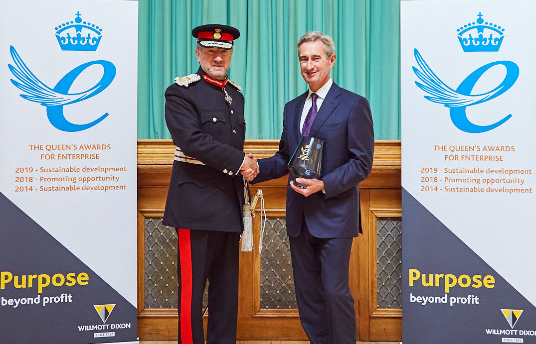 Queen's awards presentation - Rick with LL.jpg
