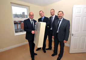 Image of Energy Services, Latch House with Cllr Dobson