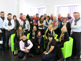 Image of Energy Services team during Cold Homes Week