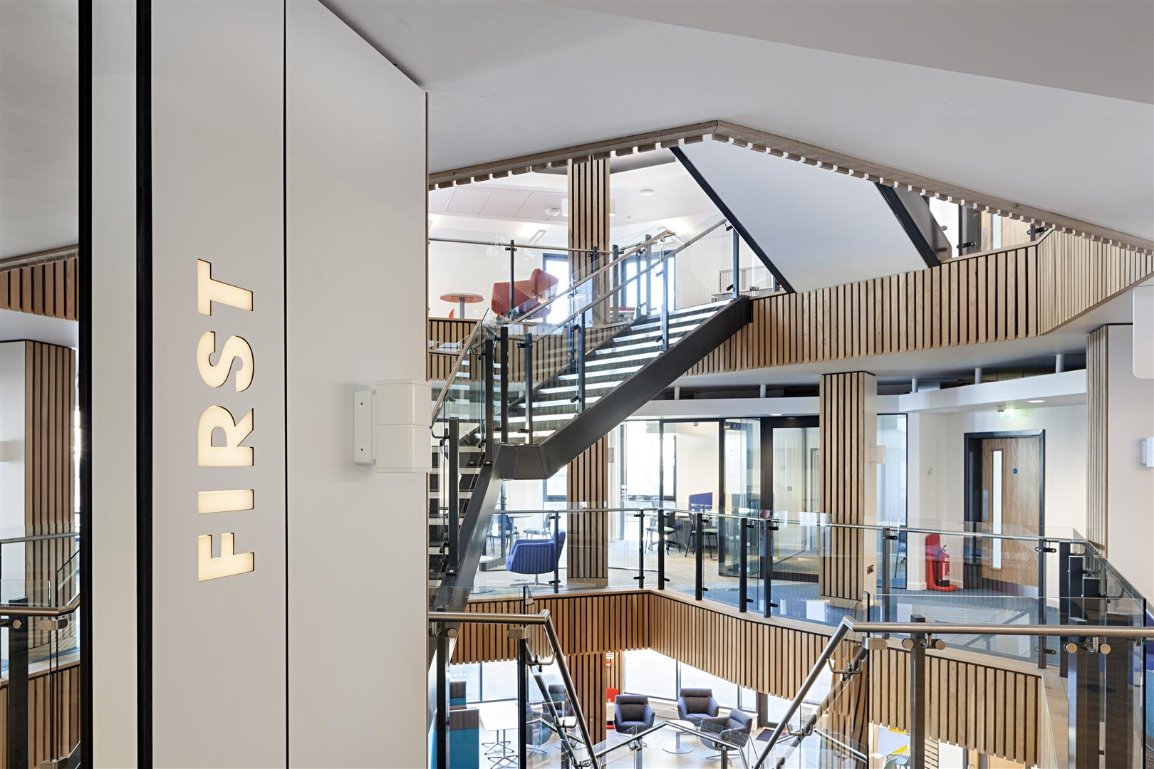 Our Team Was Approached In 2013 To Build This Six Storey Facility That Provides Great New Space Study Socialise And Get Involved With The Students